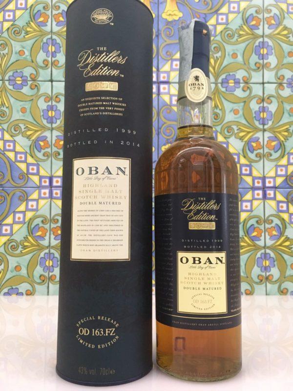 Whisky Oban 1999 Vol.43% cl.70 Distillers Edition – Bottled 2014