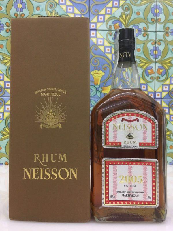 Rum Rhum Neisson 2005 Vol.43% cl.70 Fut 11169 Bottled 2014 only 290 bot.