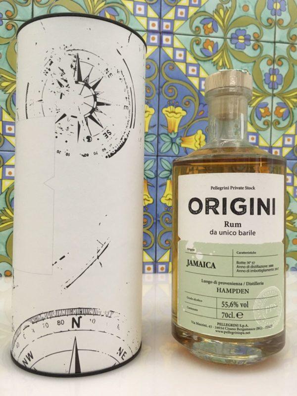 Rum Hampden Jamaica 2000 17 Y.o Vol.55,6% cl.70 – Pellegrini
