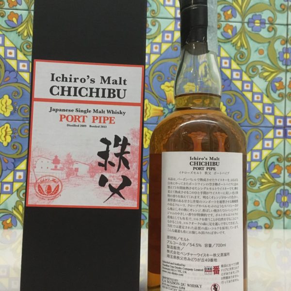 Whisky Chichibu Port Pipe 2009 Vol.54,5% cl.70, Bottled 2013
