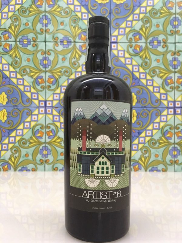 Whisky Glen Keith Artist # 6 over 20 years Vol.52,7% cl.70