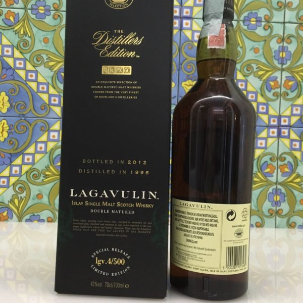Whisky Lagavulin 1996 Vol.43% cl.70 Distillers Edition – Bottled 2012