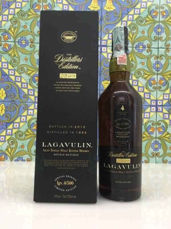 Whisky Lagavulin 1996 Vol.43% cl.70 Distillers Edition – Bottled 2012