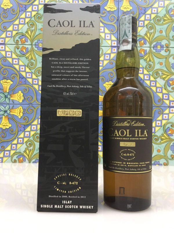 Whisky Caol Ila 2000 Vol.43% cl.70 Distillers Edition – Bottled 2012