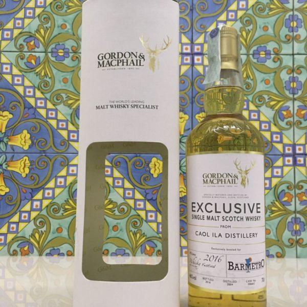 Whisky Caol ila 2004 Gordon & MacPhail 12Y.o Vol.46% cl.70 Cask N°306662 Bar Metro
