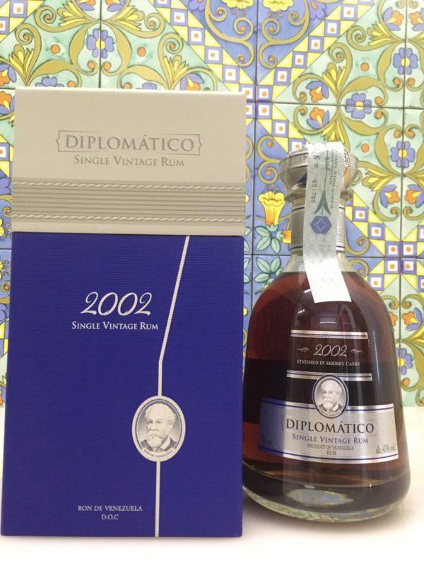 Rum Rhum Diplomatico 2002 Vol.43% cl.70 Single Vintage Rum