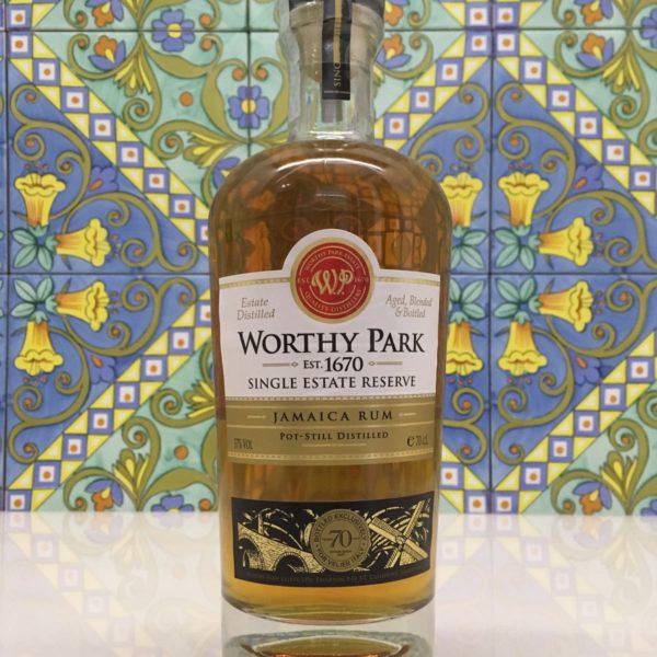 Rum Worthy park 70° Velier single estate reserve vol. 57% cl.70