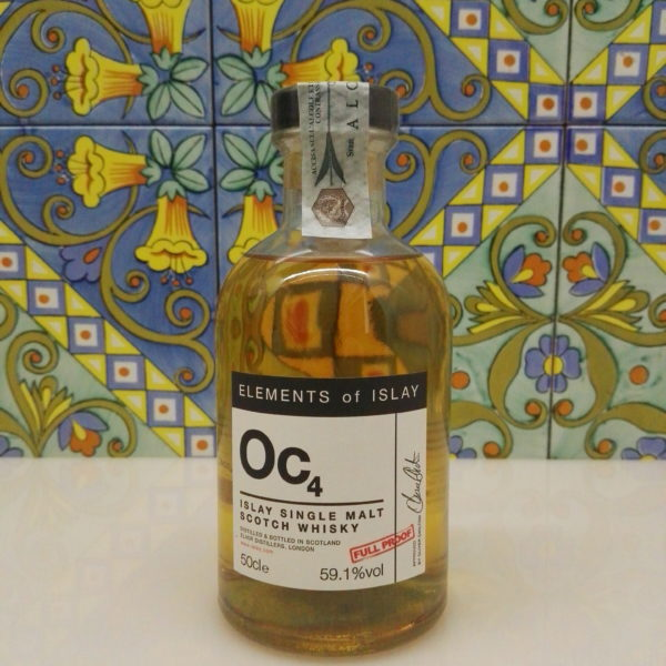 "Whisky Oc4 ""Octomore Single Malt Scotch"" Full Proof Cl.50 Vol.59,1% Velier"