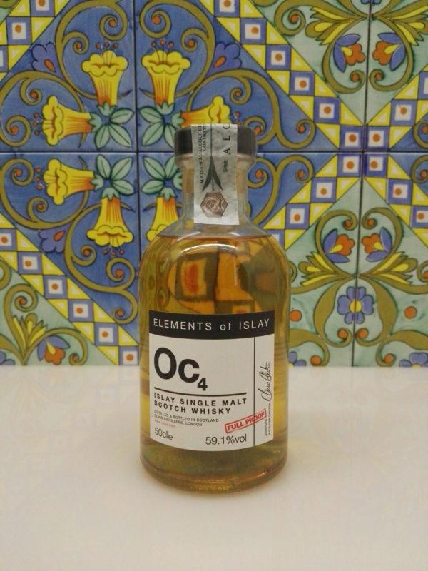"Whisky Oc4 ""Octomore Single Malt Scotch"" Full Proof Cl.50 Vol.59,1% Velier"