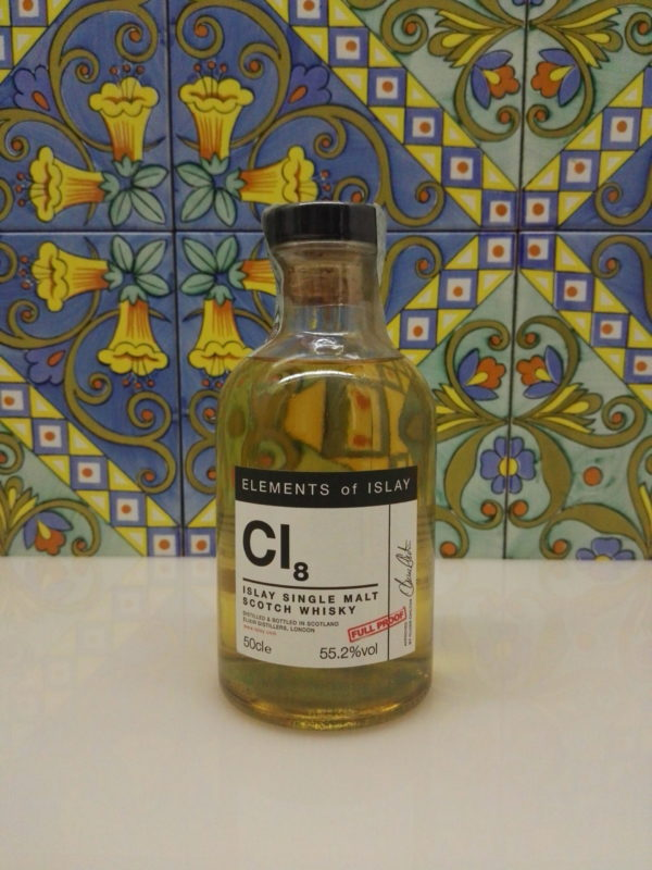 "Whisky Cl8 ""Caol Ila Single Malt Scotch"" Full Proof Cl.50 Vol. 55,2% Velier"