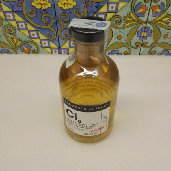 "Whisky Cl8 ""Caol Ila Single Malt Scotch"" Full Proof Cl.50 Vol. 55,2% Velier"