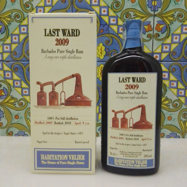 Rum Habitation Last Ward  2009 Vol.59% cl.70 Distillery Mount Gay by Velier
