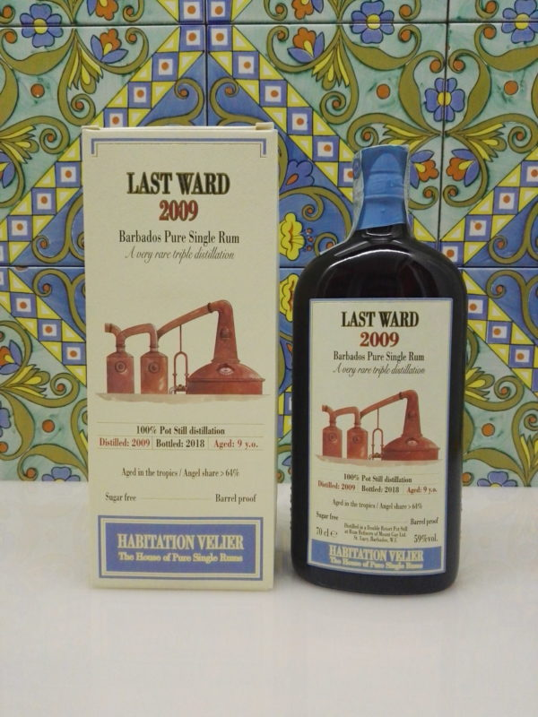 Rum Habitation Last Ward  2009 Vol.59% cl.70 Distillery Mount Gay by Velier