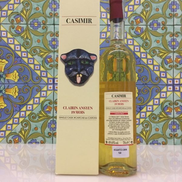 Rum Clairin Casimir Ansyen 19 mois Single Cask # CARCA8 ex Caroni Vol 49,6% Cl 70