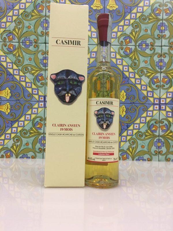 Rum Clairin Casimir Ansyen 19 mois Single Cask # CARCA8 ex Caroni Vol 49,6% Cl 70