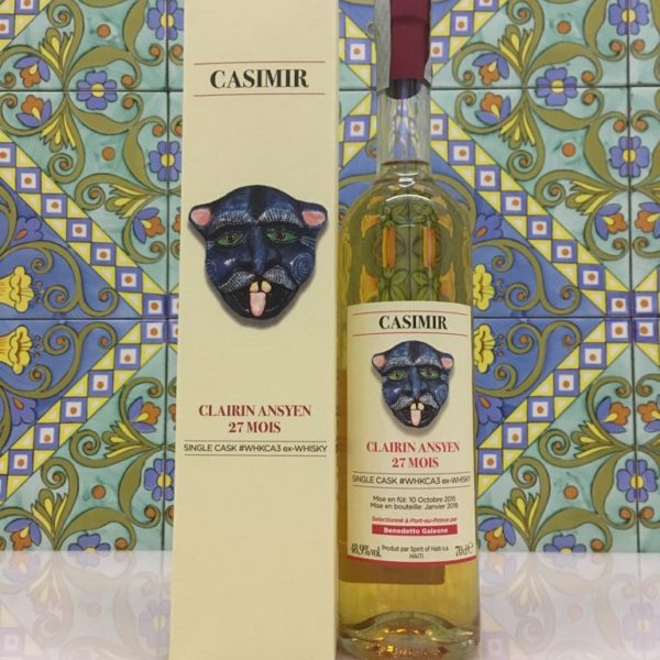 Rum Clairin Casimir Ansyen 27 mois Single Cask # WHKCA3 ex Whisky Vol 48,9% Cl 70