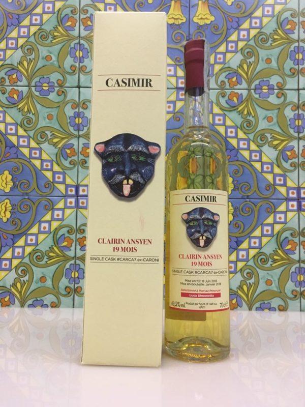 Rum Clairin Casimir Ansyen 19 mois Single Cask # CARCA7 ex Caroni Vol 49,5% Cl 70