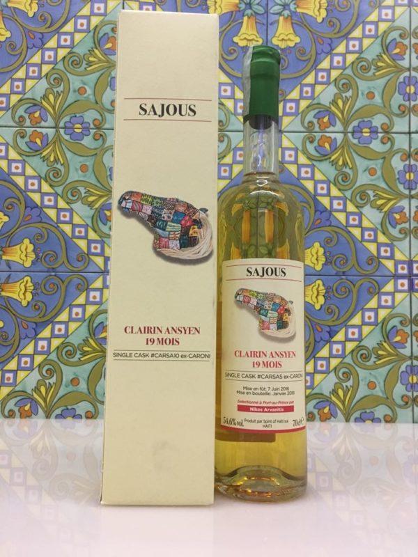 Rum Clairin Sajous Ansyen 19 mois Single Cask # CARSA5 ex Caroni Vol 54,6% Cl 70