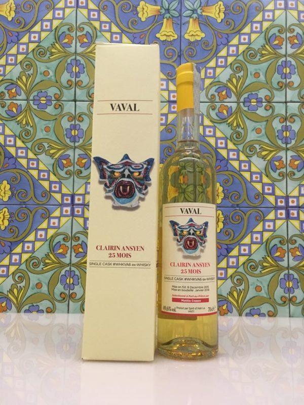 Rum Clairin Vaval Ansyen 25 mois Single Cask # WHKVA6 ex Whisky Vol 49,6% Cl 70