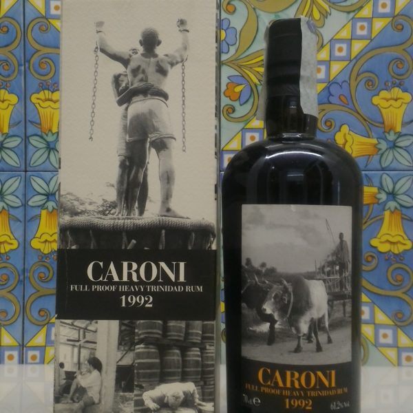 Rum Rhum Caroni 1992 18 Y.o. Full Proof by Velier Vol.61,2% cl.70