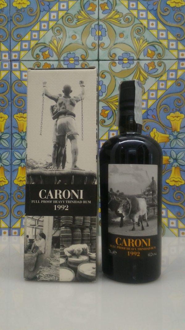 Rum Rhum Caroni 1992 18 Y.o. Full Proof by Velier Vol.61,2% cl.70