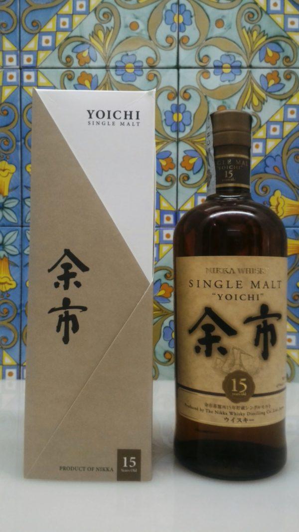 Whisky Yoichi Nikka 15 Y.o. Single Malt Vol.45 % cl.70