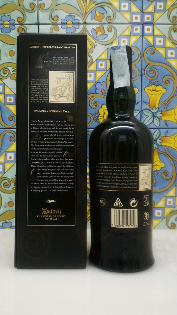 Corryvreckan  Ardbeg Islay Single Malt Scotch Whisky Vol. 57,1% cl.70