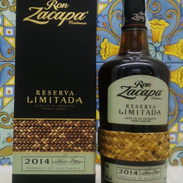 """Ron Zacapa Centenario """"Reserva Limitada"""" 2014 Vol .45%  cl.70"""