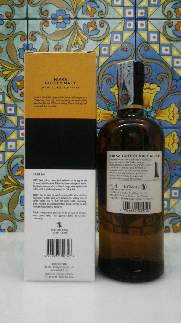 Nikka Coffey Malt Whisky Vol.45% cl.70