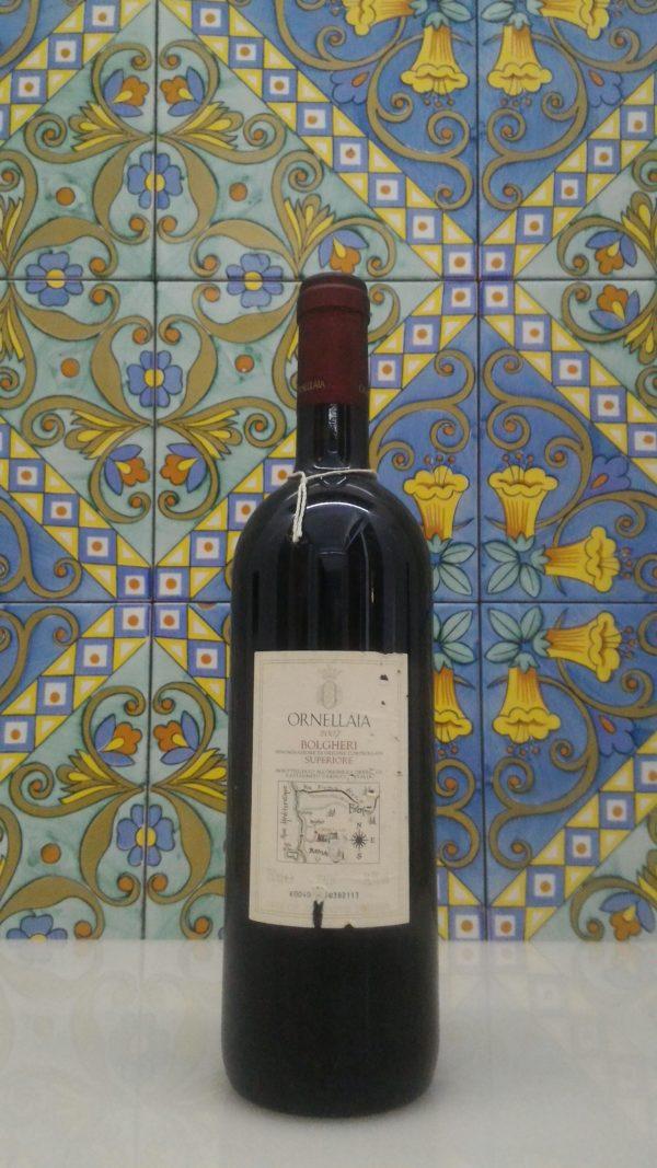 """Bolgheri Superiore DOC """"Ornellaia"""" 2007 – Tenuta Dell' Ornellaia"""