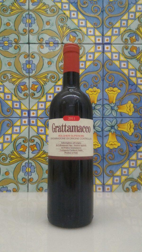 Grattamacco Bolgheri Rosso Superiore  DOC 2011
