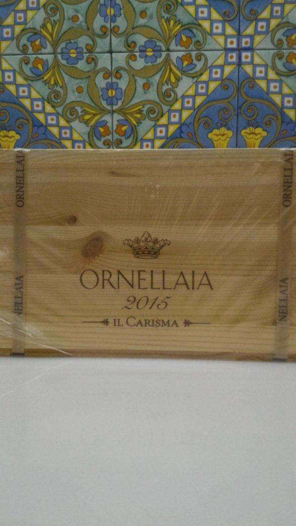 """Bolgheri Superiore DOC """"Ornellaia"""" 2015 – Tenuta Dell' Ornellaia 6 bot. cl 75"""