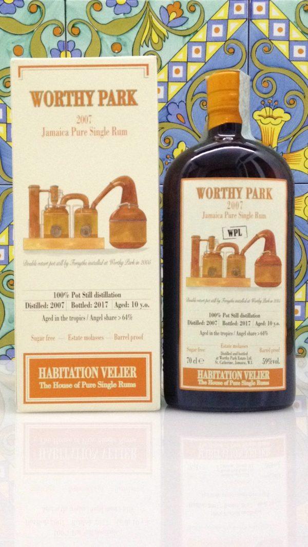 Rum Habitation Velier Worthy Park 2007 Jamaica Vol 59% Cl. 70