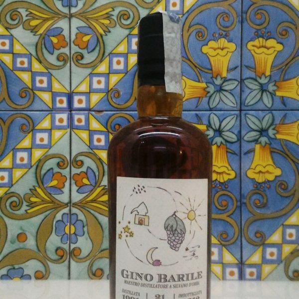 Grappa Gino Barile 21 anni  Vol.49% cl.50
