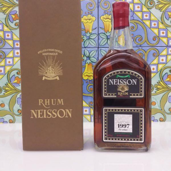 Rum Rhum Neisson 1997  Fut Unique Agricole Vol.44,7 %  cl.70