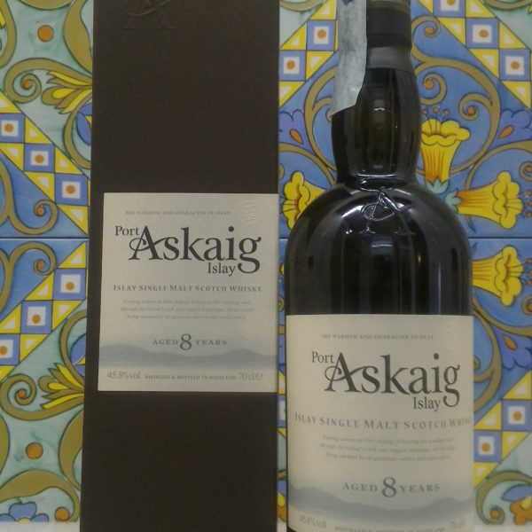 "Islay Single Malt Scotch Whisky ""Port Askaig 8 years old""- vol 45,8% cl 70"