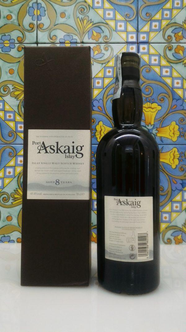 "Islay Single Malt Scotch Whisky ""Port Askaig 8 years old""- vol 45,8% cl 70"