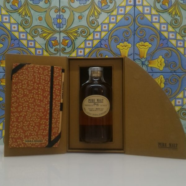 Whisky Nikka Pure Malt Black Cof. Jurnal Degustation- vol 43% cl 50