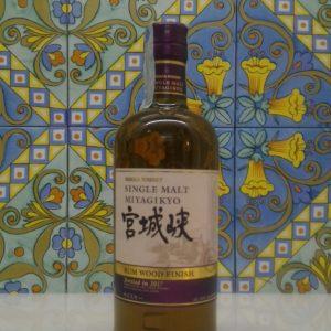 Whisky Miyagikyo Nikka Nas Rum Cask Finish- vol 46% cl 70