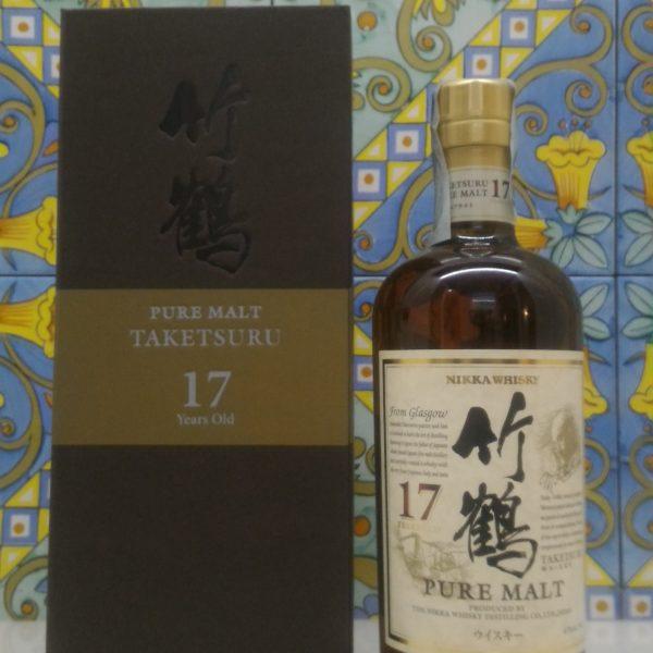 Whisky Taketsuru 17 Y.o. Nikka Pure Malt – Vol.43% cl.70