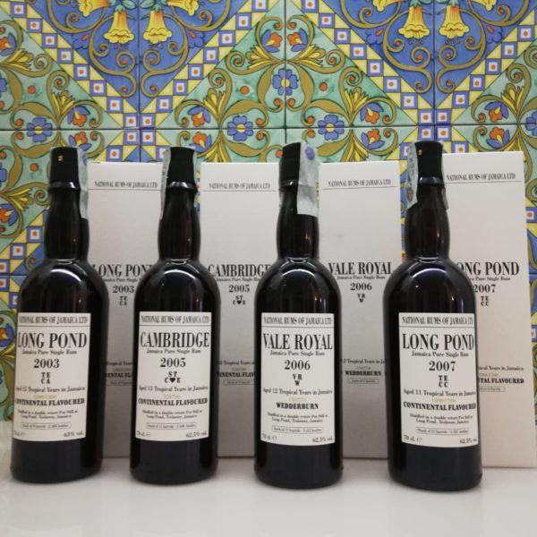 "Jamaica Pure Single Rum  Serie ""Long Pond"" Velier"