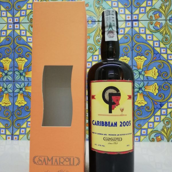 Rum Samaroli Carribean Blended 2005 vol 45% cl 70