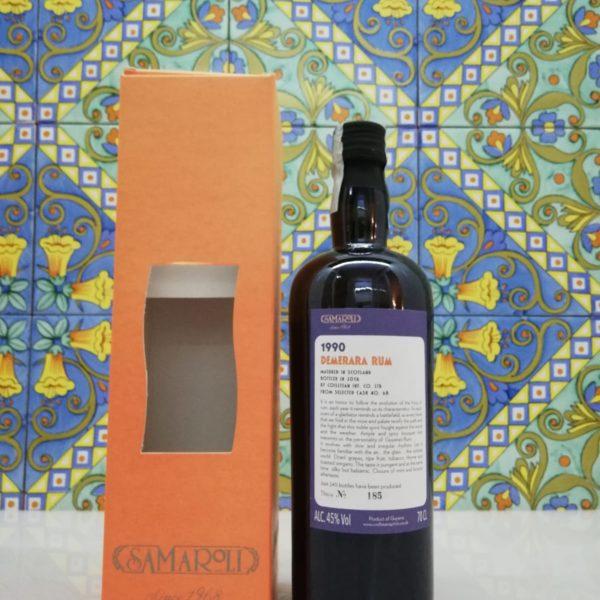 Rum Samaroli Demerara 1990 vol 45% cl 70