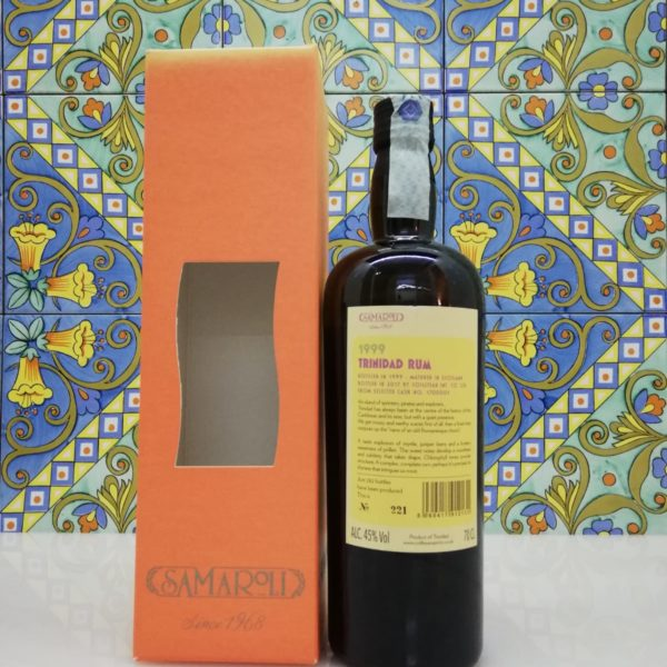 Rum Samaroli Trinidad 1999 vol 45% cl 70