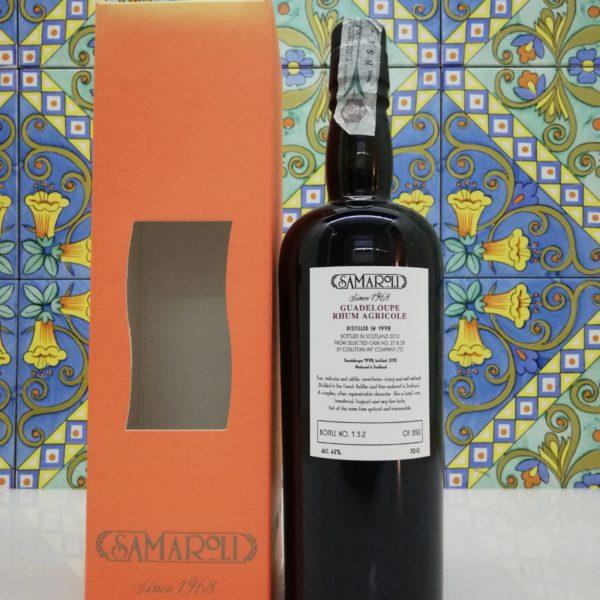 Rum Samaroli Guadalupe 1998 vol 45% cl 70