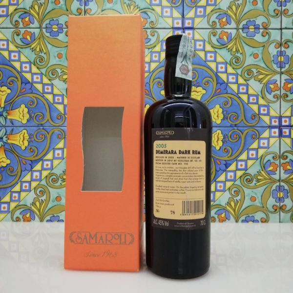 Rum Samaroli Demerara Dark 2005 vol 45% cl 70