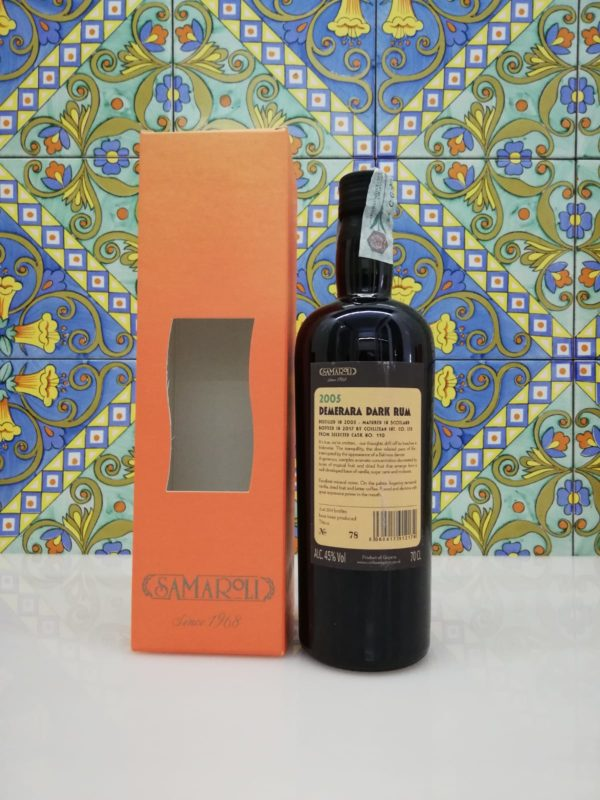 Rum Samaroli Demerara Dark 2005 vol 45% cl 70