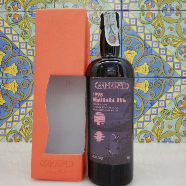 Rum Samaroli Demerara 1998 vol 49,5% cl 70