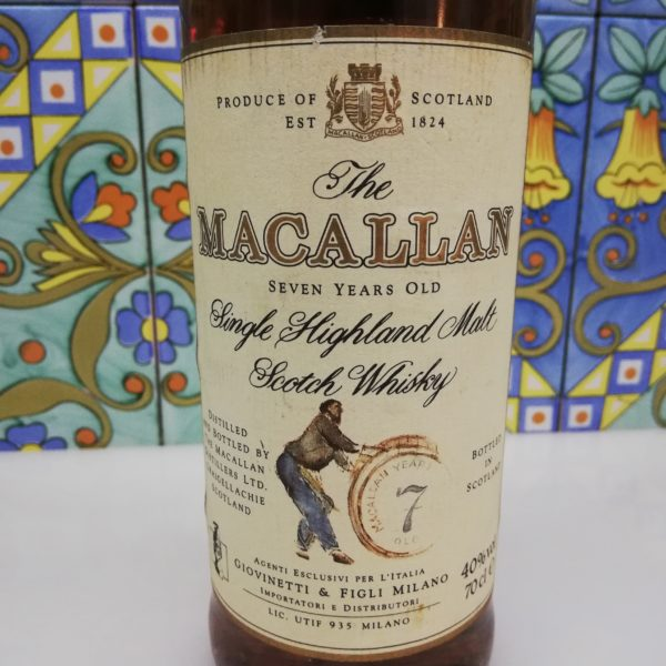 Whisky The Macallan 7 Years Old Giovinetti e Figli – cl 70 vol 40 %