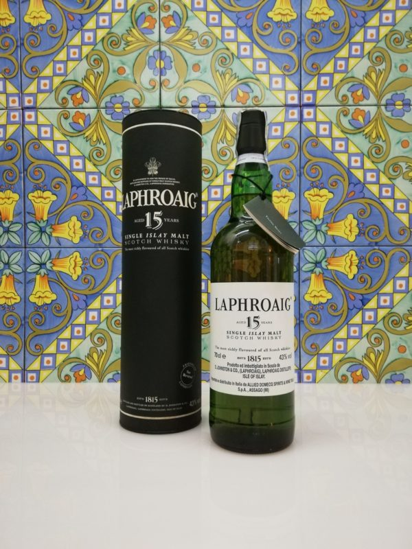 Laphroaig 15 Y.O. Single Islay Scotch Whisky  vol 43% cl 70